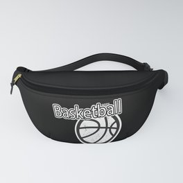 Basketball Sports Playoffs Gift Fanny Pack