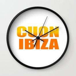 CUON IBIZA Wall Clock
