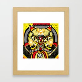 LISHKA YELLOW Framed Art Print