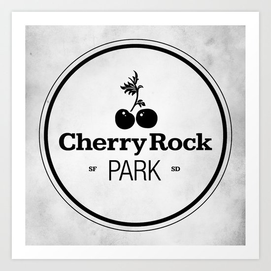 Cherry Rock Park Art Print