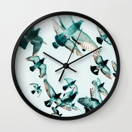 Rise #photography #wildlife Wall Clock