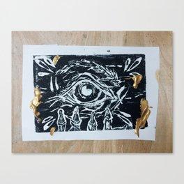 Death Anxiety Canvas Print