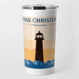 Pass Christian Mississippi. Travel Mug