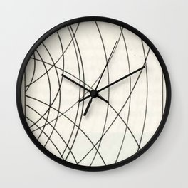 Irregular Waves Wall Clock