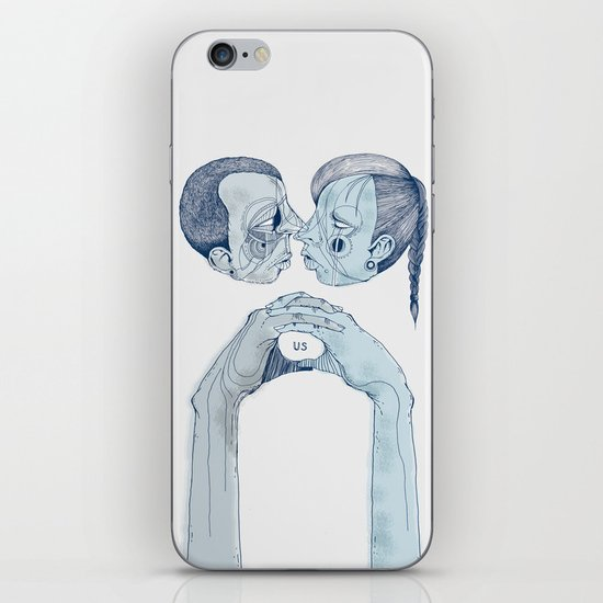 'Us & Them' iPhone & iPod Skin