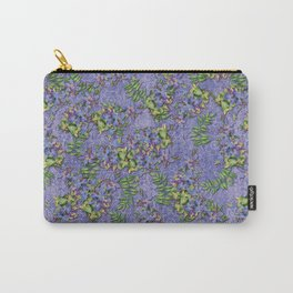 Lace and Flowers Carry-All Pouch