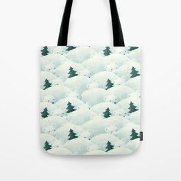 Bear Forest Tote Bag