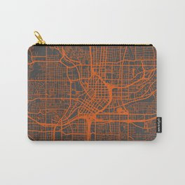 Atlanta map orange Carry-All Pouch