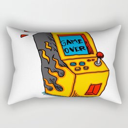 Vintage Arcade game Machine Rectangular Pillow