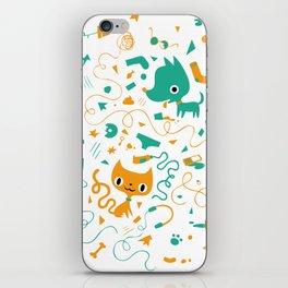 Cute vandals iPhone Skin