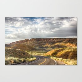 Golden Time in Arches Canvas Print
