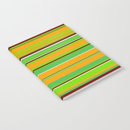 Stripes-008 Notebook