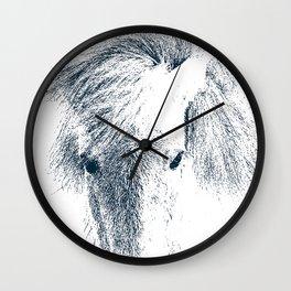 Cute Ponyface Wall Clock