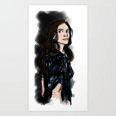 Caroline Art Print