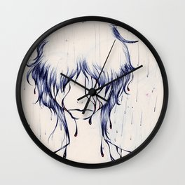 Downpour Truth Wall Clock