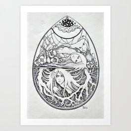 Biflorus Art Print