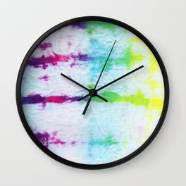 Dyeing To Create (part II) Wall Clock
