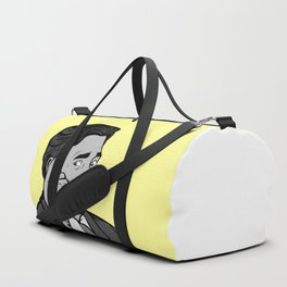 Thinking Posterize | Digital Art Duffle Bag