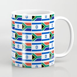 Mix of flag : Israel and south africa Coffee Mug