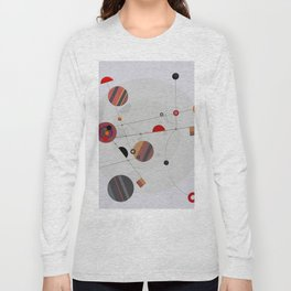 Abstract Composition 567 Long Sleeve T-shirt