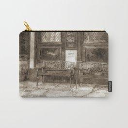 Pub Resting Place Art Vintage Carry-All Pouch