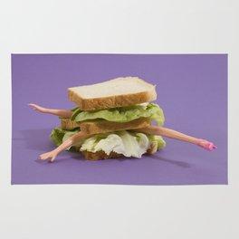Ultraviolet Sandwich Doll Rug