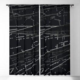 Neon Disco #3 Blackout Curtain