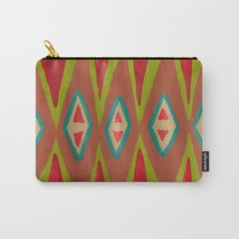Southwest Diamond Rug Carry-All Pouch