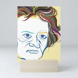 Beethoven Portrait Mini Art Print