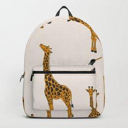 Giraffe yellow Backpack