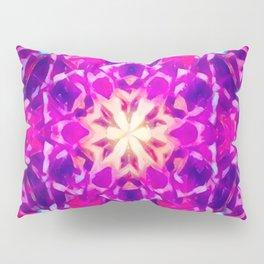 Psychedelic Mandala (Purple) Pillow Sham
