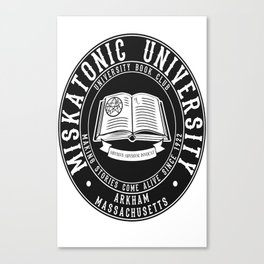 Miskatonic University Book Club Canvas Print