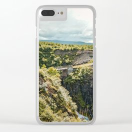 Rivers and Roads Clear iPhone Case