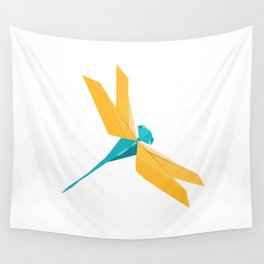 Origami Dragonfly Wall Tapestry