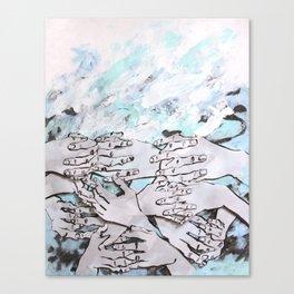 Self-Control Canvas Print