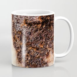 Cool brown rusty metal texture Coffee Mug