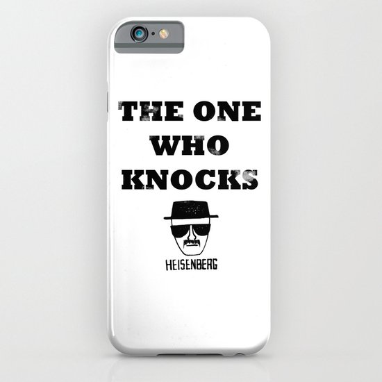 Heisenberg - The One Who Knocks iPhone & iPod Case