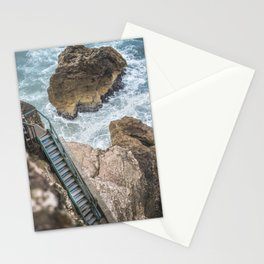 STAIRWAY  TO OCEAN Stationery Cards