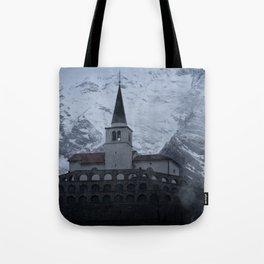 Kostnica s Cerkvijo Sv. Antona Tote Bag