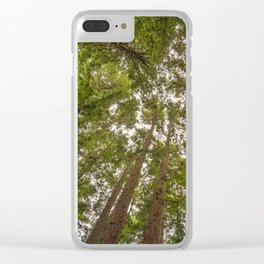 Redwoods 2 Clear iPhone Case