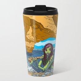 MERMAID COVE Metal Travel Mug