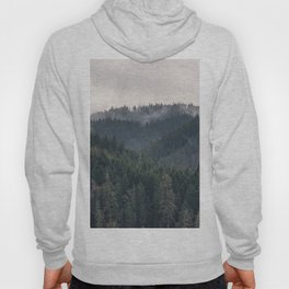 Pacific Northwest Forest - Nature Photography Hoody