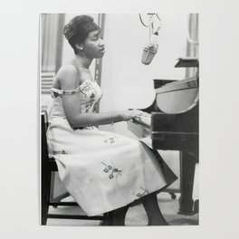 Aretha Franklin Poster American Singer Canvas Wall Art Home Decor Framed Art Poster