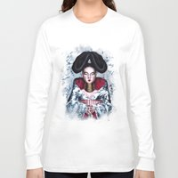 bjork Long Sleeve T-shirts featuring BJORK by Denda Reloaded