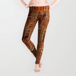 wild pattern -7- Leggings
