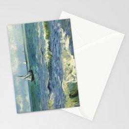 Seascape near Les Saintes Maries de la Mer by Vincent van Gogh Stationery Cards