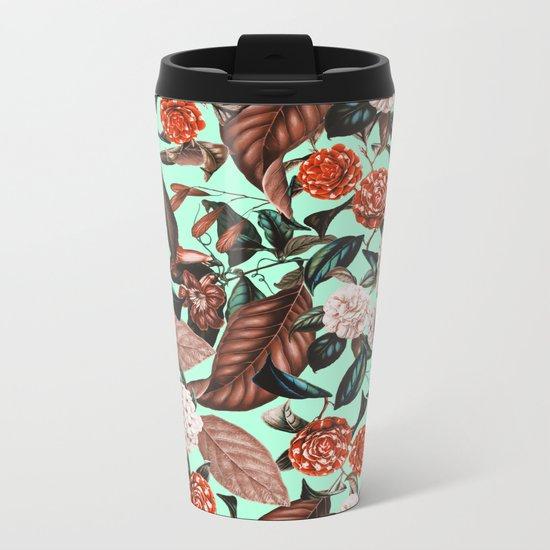Summer Botanical Garden VII Metal Travel Mug