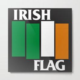 Irish Flag Metal Print