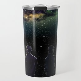 John and Rodney - A Galaxy Away Travel Mug