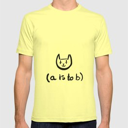 (a is to b) T-shirt